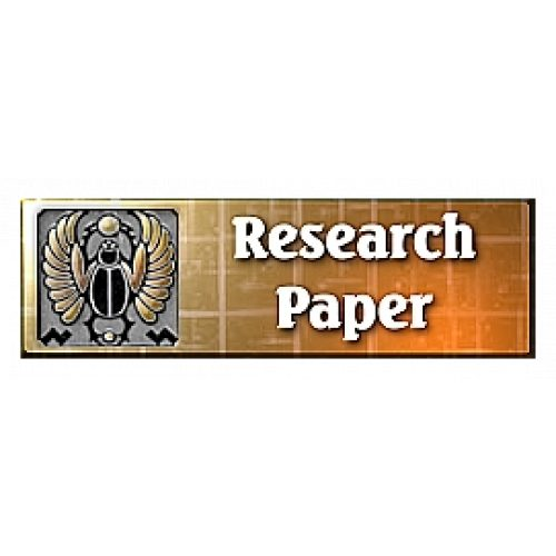 Esoteric Research Paper